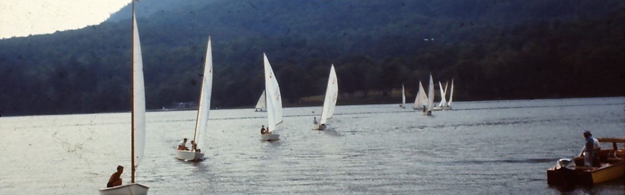 Sailing on Trout Lake in the 60s